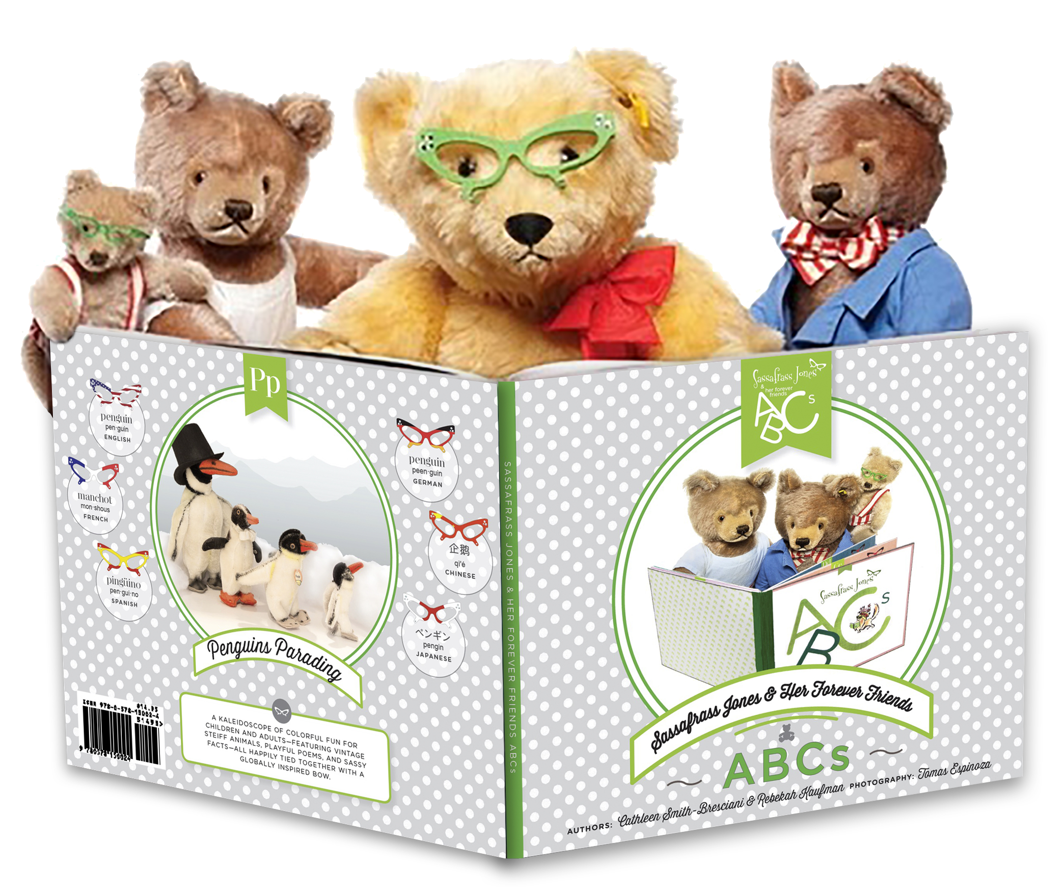 Bears reading ABC Book
